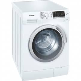 Waschmaschine SIEMENS WS12M460BY weiss