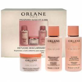 Bedienungshandbuch Kosmetika ORLANE Programa Oligo-Set Vit-A-Min 20ml Light Smoothing Cream + vitalisierende Reiniger 50ml + 50ml vitalisierende Lotion