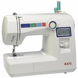 AEG 227 Nähmaschine weiß - Anleitung