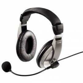 Bedienungsanleitung für HAMA Headset AH-100 (11592) Silber/Titan