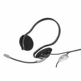 Bedienungshandbuch Ein Headset HAMA 57196 schwarz/silber