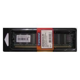 Benutzerhandbuch für Speichermodul TRANSCEND DDR 512MB 400MHz CL3 (TS64MLD64V4J)