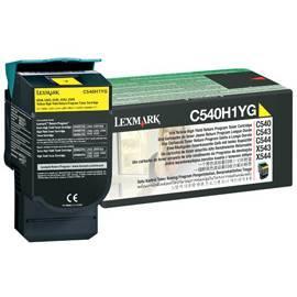 Bedienungshandbuch LEXMARK C540 Toner C543 C544 X 543 X 544 (C540H1YG) gelb