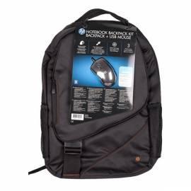 Bedienungshandbuch Rucksack für Laptop HP und Maus bis 17,3 ' ' WW553AA