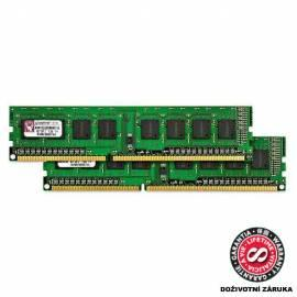 Handbuch für Speichermodul KINGSTON DDR3 2GB 1066MHz DDR3 Non-ECC CL7 DIMM (KVR1066D3N7 / 2G)