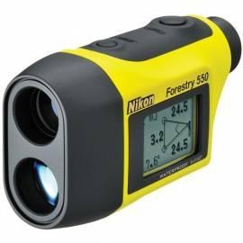 Entfernungsmesser NIKON Forestry 550 gelb Gebrauchsanweisung