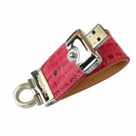 Datasheet USB-flash-Disk PRESTIGIO Leather 8GB USB 2.0 (PLDF08CRPKT3A) Rosa
