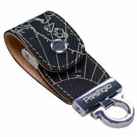 Bedienungshandbuch USB-flash-Disk PRESTIGIO Leather 8GB USB 2.0 (PLDF08MPBKT3A) schwarz