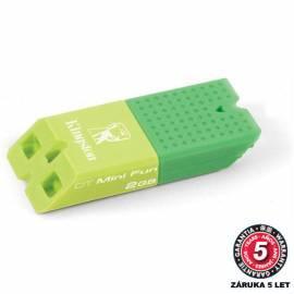Bedienungshandbuch USB flash-Disk KINGSTON Data Traveler Mini Fun G2 2GB (DTMFG2/2GBDER) grün