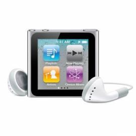 Bedienungshandbuch MP3 Player APPLE iPod Nano 16GB (6. Gen.) (MC526QB/A) Silber