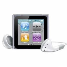 Benutzerhandbuch für MP3 Player APPLE iPod Nano 8GB (6. Gen.) (MC688QB/A) Titan