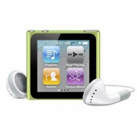 Datasheet MP3 Player APPLE iPod Nano 8GB (6. Gen.) (MC690QB/A)-grün
