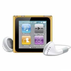 MP3 Player APPLE iPod Nano 8GB (6. Gen.) (MC691QB/A) orange Gebrauchsanweisung