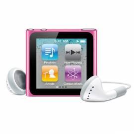 Bedienungshandbuch MP3 Player APPLE iPod Nano 8GB (6. Gen.) (MC692QB/A)-Rosa