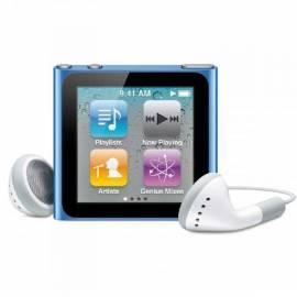 MP3 Player APPLE iPod Nano 16GB (6. Gen.) (MC695QB/A) blau Bedienungsanleitung