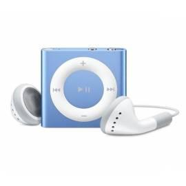 Bedienungsanleitung für MP3 Player APPLE iPod Shuffle 2GB (4th Gen). (MC751BT/A) blau