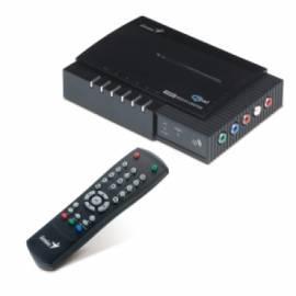 Bedienungshandbuch multimedial centrum GENIUS DigiPlayer Media Player 200 (32410021101)