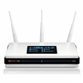 Bedienungsanleitung für Netzwerk Prvky eine WLAN D-LINK DIR-855 Wireless N 4Band Router + 4xGLAN + OLED