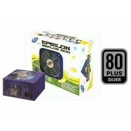 Zdroj FORTRON EPSILON 500W 88PLUS SILVER, EPS (PPA5002601) Gebrauchsanweisung
