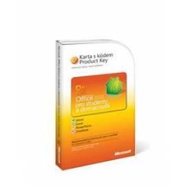 Software MICROSOFT Office Home and Student 2010 slowakischen Attach Key PKC (79G-02041) - Anleitung