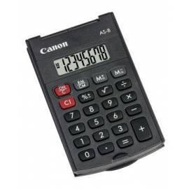 Benutzerhandbuch für Taschenrechner CANON AS-8 (4598B001)