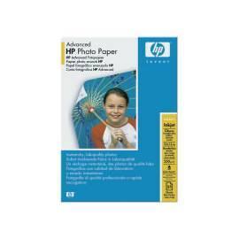 Papier für Drucker HP Advanced Glossy Photo Paper, 10 x 15cm, 25ks, (Q8691A) Bedienungsanleitung