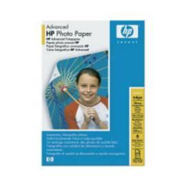 Papiere, Drucker HP Advanced Fotopapier, glänzend, 10 x 15 cm, 60 Blatt (Q8008A)