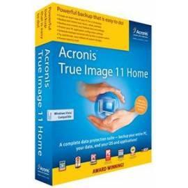 Software ACRONICS Upgrade Acronis True Image Home 2011 CZ (TIHQU1CZS) Gebrauchsanweisung