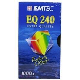 Kassette in den Camcorder EMTEC E240 EQ