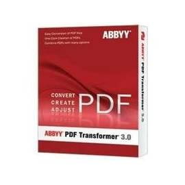 Handbuch für Software ABBYY PDF Transformer 3.0/Box, CZ (AT30-1S1B01-9)