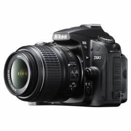 Handbuch für Set Produkte NIKON D90 + 18-55 AF-S VR schwarz