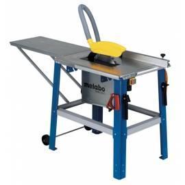 METABO Tischkreissäge TKHS 315 C-2,0 WNB silber/blau