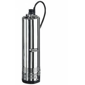 Benutzerhandbuch für Pumpe Tauchpumpe GARDENA 4000/5 Inox Tauchpumpe Druck Silber/Edelstahl