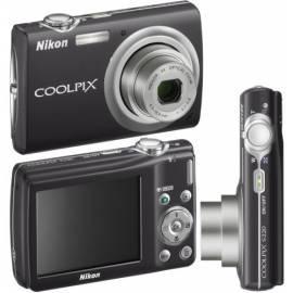 Handbuch für Kamera Nikon Coolpix S220 Black (schwarz)