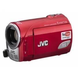 Bedienungshandbuch Camcorder JVC GZ-MS100RE, SDHC, rot