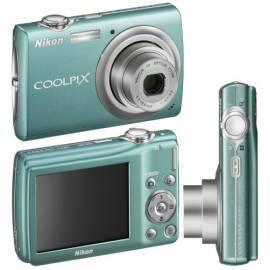 Kamera Nikon Coolpix S220 grün (sehr gut) - Anleitung