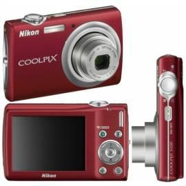 PDF-Handbuch downloadenKamera Nikon Coolpix S220 Red (rot)