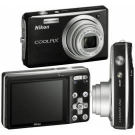 Benutzerhandbuch für Digitalkamera Nikon Coolpix S560 schwarz