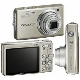 Bedienungsanleitung für Kamera Nikon Coolpix S560 Silber