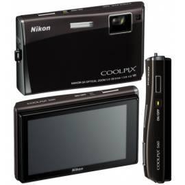 Datasheet Kamera Nikon Coolpix S60 Black (violett-schwarz)