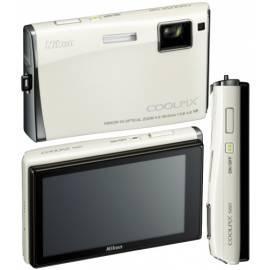 Bedienungshandbuch Kamera Nikon Coolpix S60 weiß (Perlweiß)
