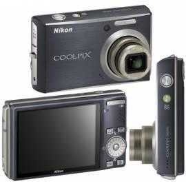 Digitalkamera Nikon Coolpix S610c schwarz Bedienungsanleitung