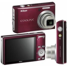 Handbuch für Kamera Nikon Coolpix S610 rot (Deep red)