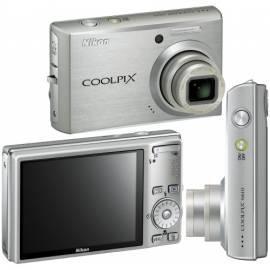 Kamera Nikon Coolpix S610 Silber (titansilber) - Anleitung