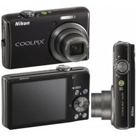 Benutzerhandbuch für Digitalkamera Nikon Coolpix S620 schwarz (Calm schwarz)