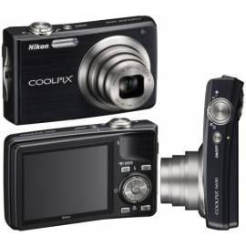 Bedienungsanleitung für Digitalkamera Nikon Coolpix S630 schwarz (schwarz)