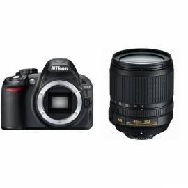 Set Produkte NIKON D3100 + 18-105 AF-S DX VR schwarz Bedienungsanleitung