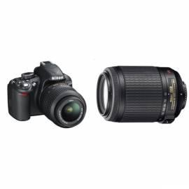 Produkte set NIKON D3100 + 18-55 AF-S DX VR + 55-200 AF-S VR schwarz - Anleitung