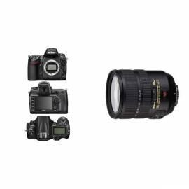 Benutzerhandbuch für Legen Sie Produkte NIKON D700 + 24-120 VR AF-S schwarz