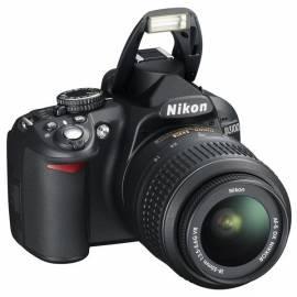 Set Produkte NIKON D3100 + 18-55 II AF-S DX schwarz Gebrauchsanweisung